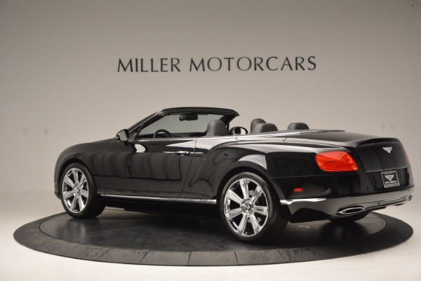 Used 2013 Bentley Continental GTC for sale Sold at Bentley Greenwich in Greenwich CT 06830 5