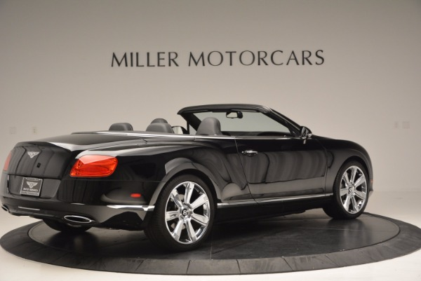 Used 2013 Bentley Continental GTC for sale Sold at Bentley Greenwich in Greenwich CT 06830 9
