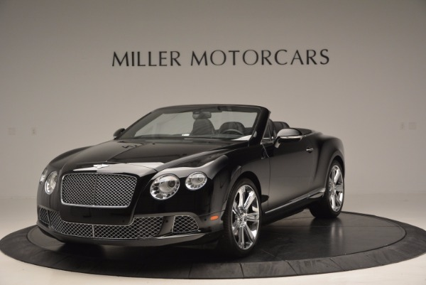 Used 2013 Bentley Continental GTC for sale Sold at Bentley Greenwich in Greenwich CT 06830 1