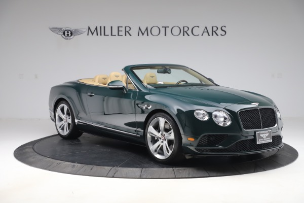 Used 2017 Bentley Continental GTC V8 S for sale $139,900 at Bentley Greenwich in Greenwich CT 06830 11