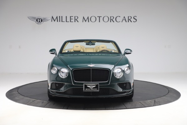 Used 2017 Bentley Continental GTC V8 S for sale $139,900 at Bentley Greenwich in Greenwich CT 06830 12