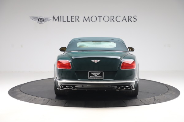Used 2017 Bentley Continental GTC V8 S for sale $149,900 at Bentley Greenwich in Greenwich CT 06830 16