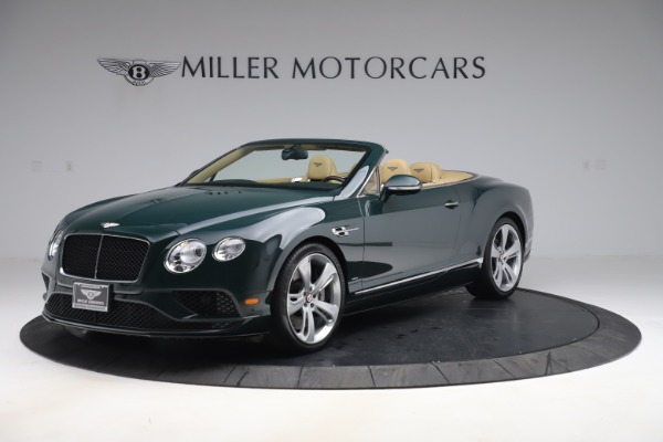Used 2017 Bentley Continental GTC V8 S for sale $149,900 at Bentley Greenwich in Greenwich CT 06830 2
