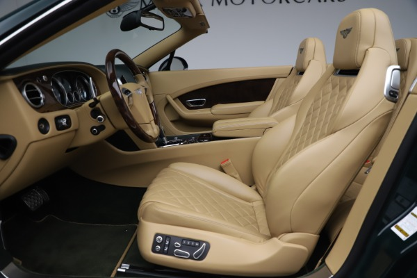 Used 2017 Bentley Continental GTC V8 S for sale $139,900 at Bentley Greenwich in Greenwich CT 06830 26