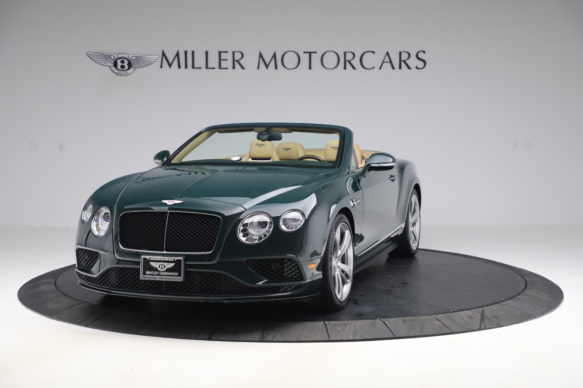 Used 2017 Bentley Continental GTC V8 S for sale $139,900 at Bentley Greenwich in Greenwich CT 06830 1