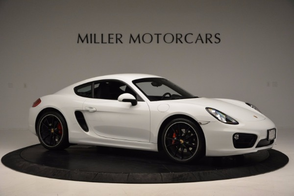 Used 2014 Porsche Cayman S for sale Sold at Bentley Greenwich in Greenwich CT 06830 10