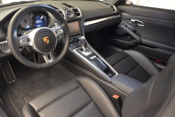 Used 2014 Porsche Cayman S for sale Sold at Bentley Greenwich in Greenwich CT 06830 13