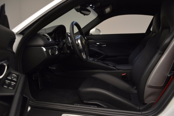 Used 2014 Porsche Cayman S for sale Sold at Bentley Greenwich in Greenwich CT 06830 14