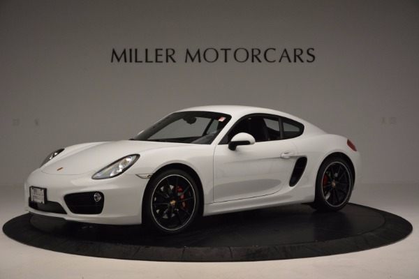 Used 2014 Porsche Cayman S for sale Sold at Bentley Greenwich in Greenwich CT 06830 2