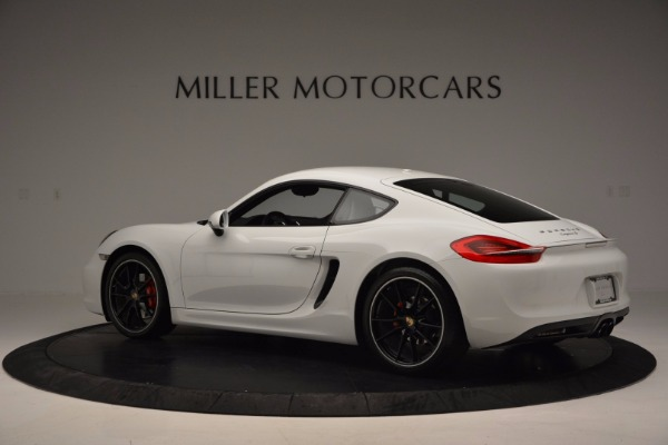 Used 2014 Porsche Cayman S for sale Sold at Bentley Greenwich in Greenwich CT 06830 4