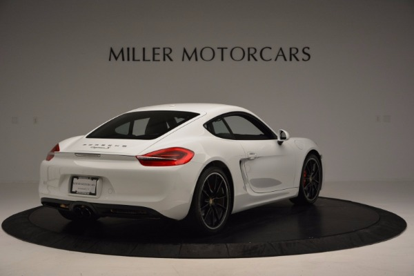 Used 2014 Porsche Cayman S for sale Sold at Bentley Greenwich in Greenwich CT 06830 7