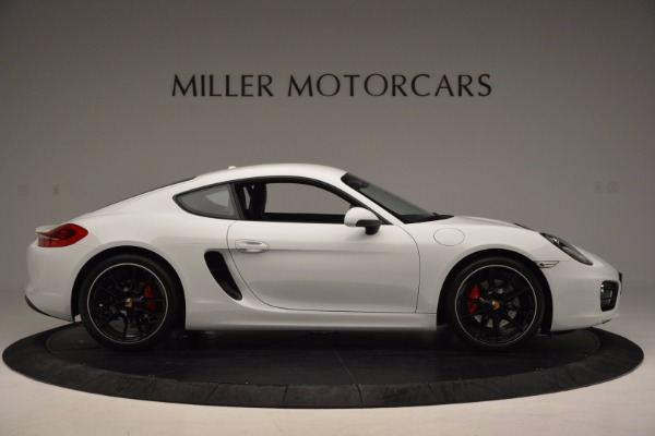 Used 2014 Porsche Cayman S for sale Sold at Bentley Greenwich in Greenwich CT 06830 9