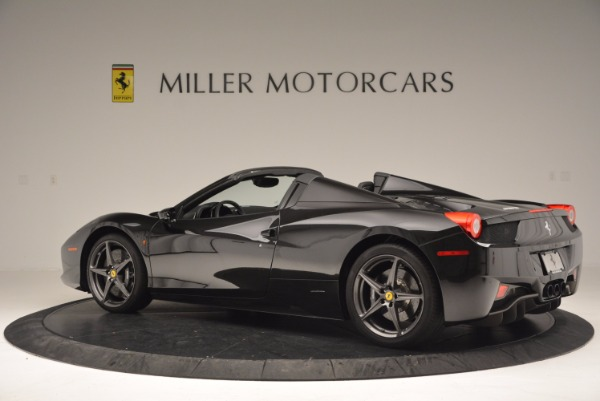Used 2015 Ferrari 458 Spider for sale Sold at Bentley Greenwich in Greenwich CT 06830 4