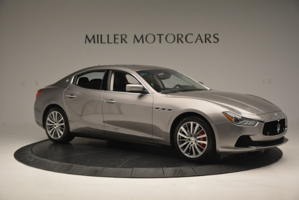 Used 2016 Maserati Ghibli S Q4  EX- LOANER for sale Sold at Bentley Greenwich in Greenwich CT 06830 10