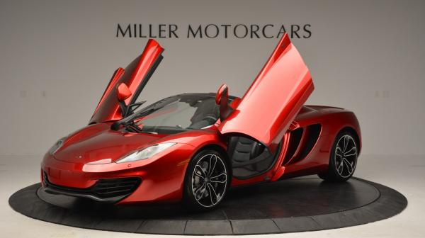 Used 2013 McLaren 12C Spider for sale Sold at Bentley Greenwich in Greenwich CT 06830 14