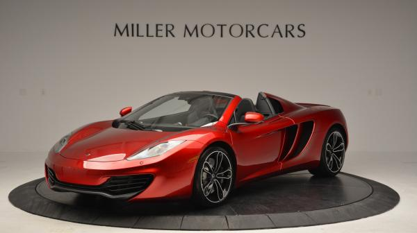Used 2013 McLaren 12C Spider for sale Sold at Bentley Greenwich in Greenwich CT 06830 1