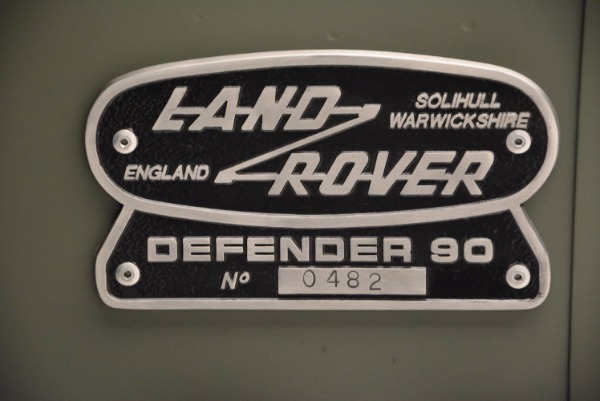 Used 1997 Land Rover Defender 90 for sale Sold at Bentley Greenwich in Greenwich CT 06830 25