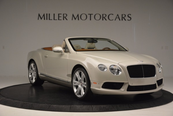 Used 2013 Bentley Continental GTC V8 for sale Sold at Bentley Greenwich in Greenwich CT 06830 11