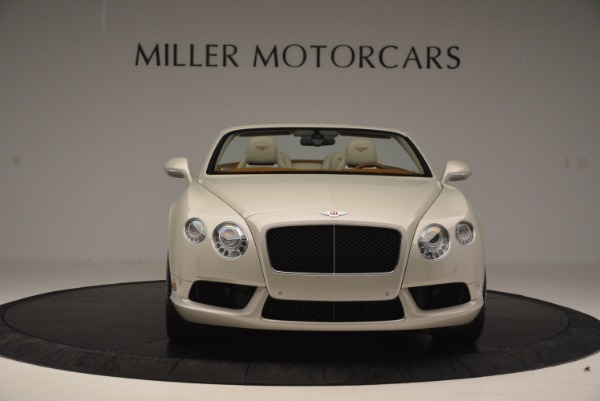Used 2013 Bentley Continental GTC V8 for sale Sold at Bentley Greenwich in Greenwich CT 06830 12