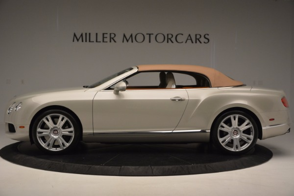 Used 2013 Bentley Continental GTC V8 for sale Sold at Bentley Greenwich in Greenwich CT 06830 16