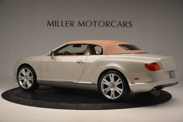 Used 2013 Bentley Continental GTC V8 for sale Sold at Bentley Greenwich in Greenwich CT 06830 17