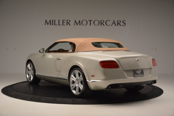 Used 2013 Bentley Continental GTC V8 for sale Sold at Bentley Greenwich in Greenwich CT 06830 18
