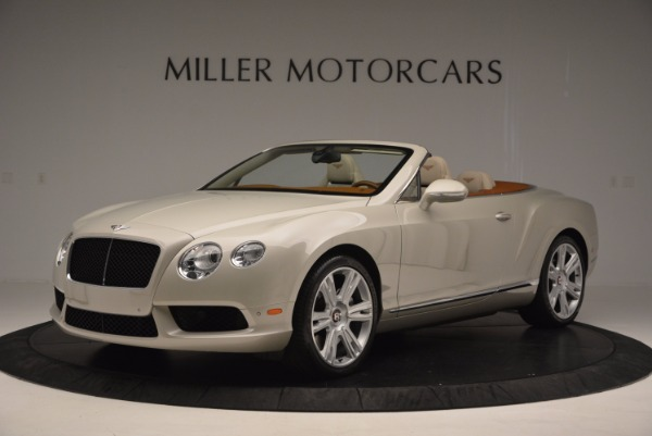 Used 2013 Bentley Continental GTC V8 for sale Sold at Bentley Greenwich in Greenwich CT 06830 2
