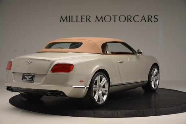 Used 2013 Bentley Continental GTC V8 for sale Sold at Bentley Greenwich in Greenwich CT 06830 20