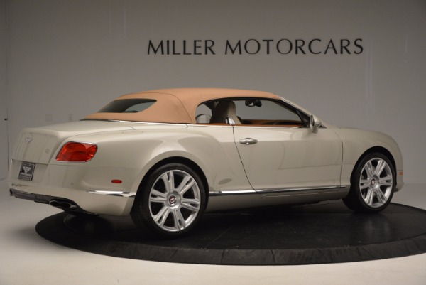 Used 2013 Bentley Continental GTC V8 for sale Sold at Bentley Greenwich in Greenwich CT 06830 21