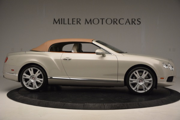 Used 2013 Bentley Continental GTC V8 for sale Sold at Bentley Greenwich in Greenwich CT 06830 22