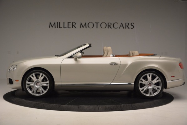 Used 2013 Bentley Continental GTC V8 for sale Sold at Bentley Greenwich in Greenwich CT 06830 3