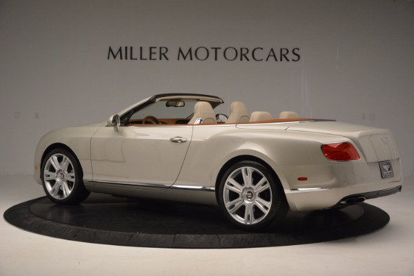 Used 2013 Bentley Continental GTC V8 for sale Sold at Bentley Greenwich in Greenwich CT 06830 4