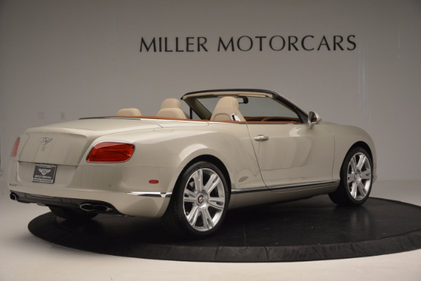 Used 2013 Bentley Continental GTC V8 for sale Sold at Bentley Greenwich in Greenwich CT 06830 8