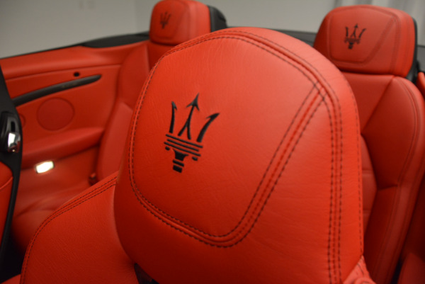 New 2017 Maserati GranTurismo Cab Sport for sale Sold at Bentley Greenwich in Greenwich CT 06830 24
