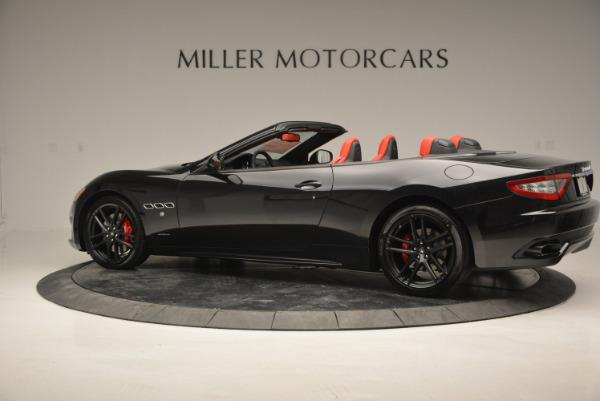 New 2017 Maserati GranTurismo Cab Sport for sale Sold at Bentley Greenwich in Greenwich CT 06830 7