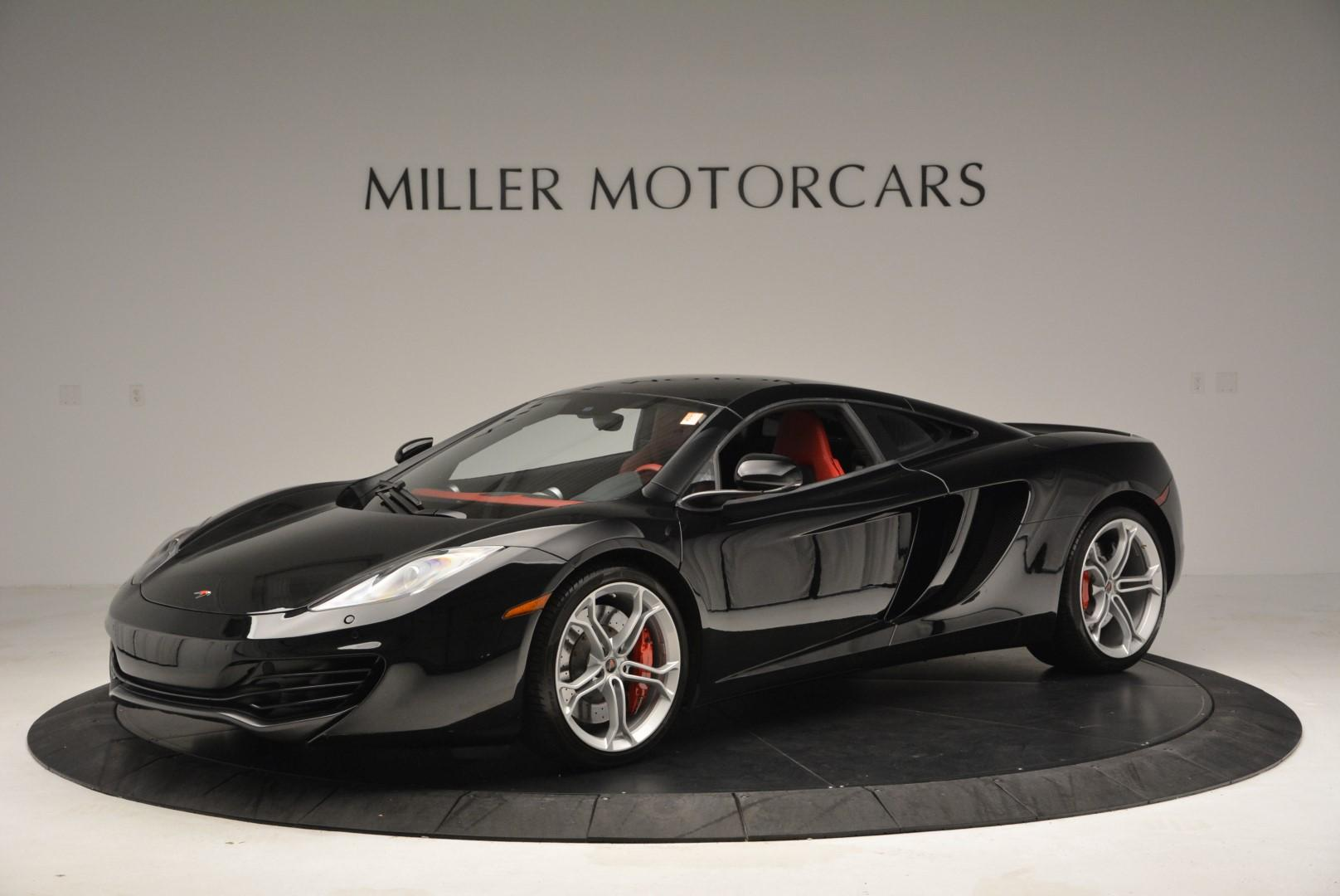 Used 2012 McLaren MP4-12C Coupe for sale Sold at Bentley Greenwich in Greenwich CT 06830 1