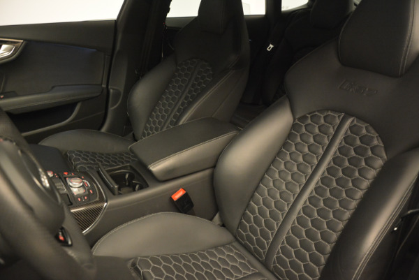 Used 2014 Audi RS 7 4.0T quattro Prestige for sale Sold at Bentley Greenwich in Greenwich CT 06830 16