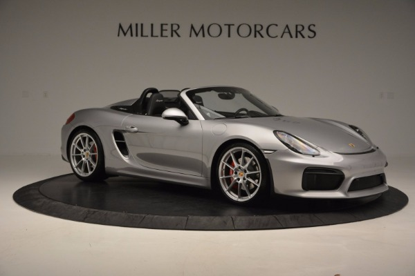 Used 2016 Porsche Boxster Spyder for sale Sold at Bentley Greenwich in Greenwich CT 06830 10