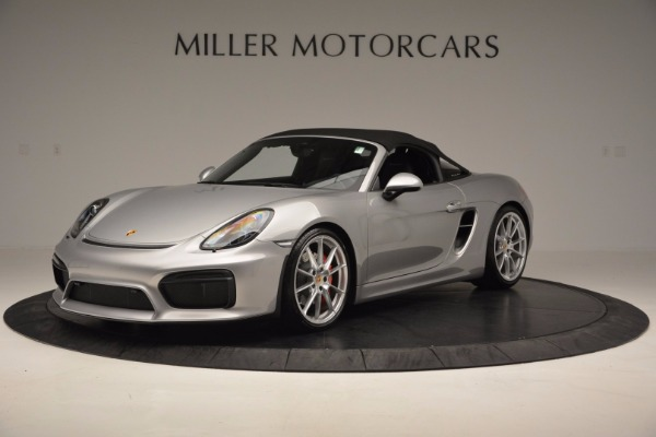 Used 2016 Porsche Boxster Spyder for sale Sold at Bentley Greenwich in Greenwich CT 06830 13