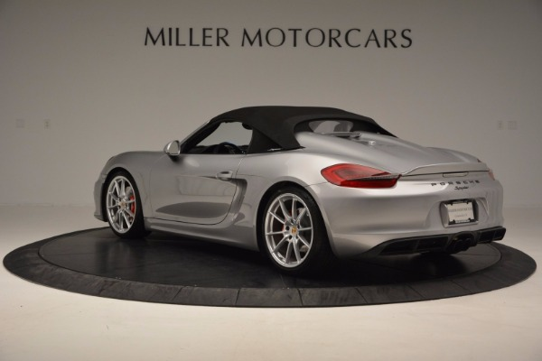 Used 2016 Porsche Boxster Spyder for sale Sold at Bentley Greenwich in Greenwich CT 06830 15