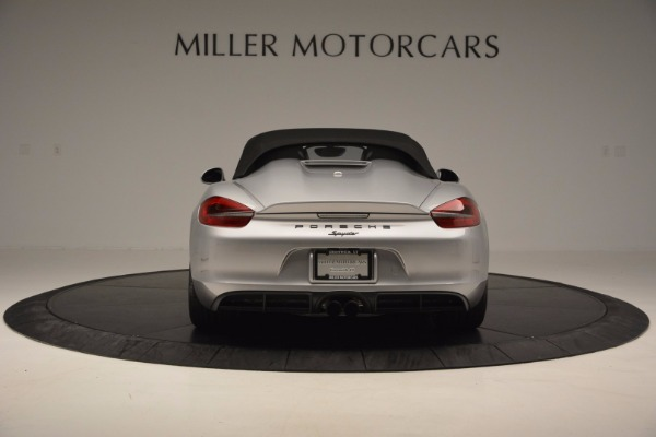 Used 2016 Porsche Boxster Spyder for sale Sold at Bentley Greenwich in Greenwich CT 06830 16