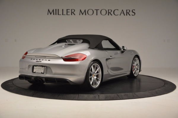 Used 2016 Porsche Boxster Spyder for sale Sold at Bentley Greenwich in Greenwich CT 06830 17