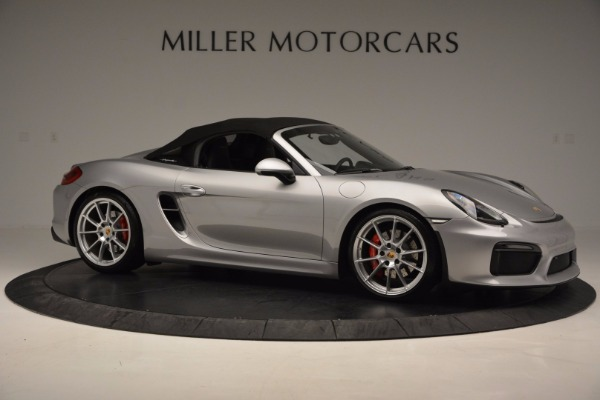 Used 2016 Porsche Boxster Spyder for sale Sold at Bentley Greenwich in Greenwich CT 06830 19