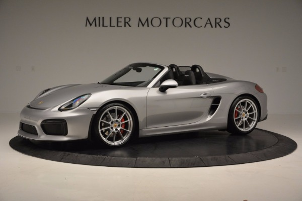 Used 2016 Porsche Boxster Spyder for sale Sold at Bentley Greenwich in Greenwich CT 06830 2