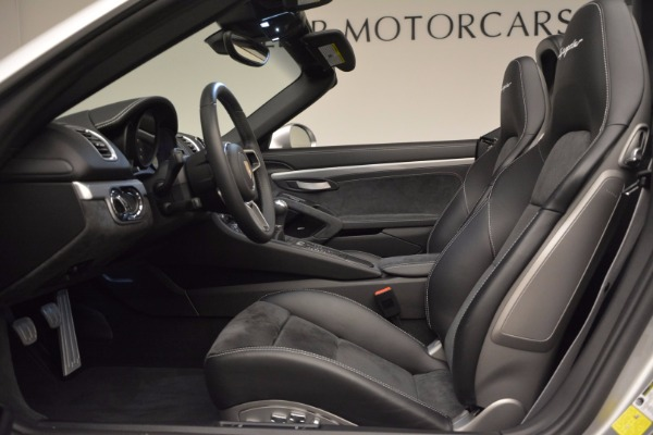 Used 2016 Porsche Boxster Spyder for sale Sold at Bentley Greenwich in Greenwich CT 06830 21