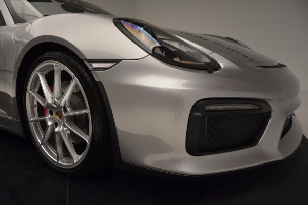 Used 2016 Porsche Boxster Spyder for sale Sold at Bentley Greenwich in Greenwich CT 06830 26