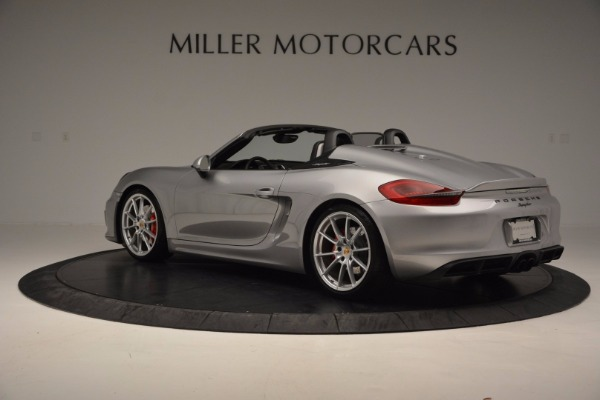 Used 2016 Porsche Boxster Spyder for sale Sold at Bentley Greenwich in Greenwich CT 06830 4