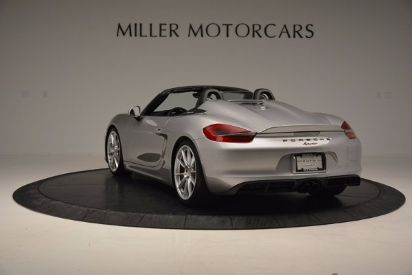 Used 2016 Porsche Boxster Spyder for sale Sold at Bentley Greenwich in Greenwich CT 06830 5