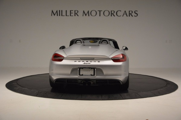 Used 2016 Porsche Boxster Spyder for sale Sold at Bentley Greenwich in Greenwich CT 06830 6
