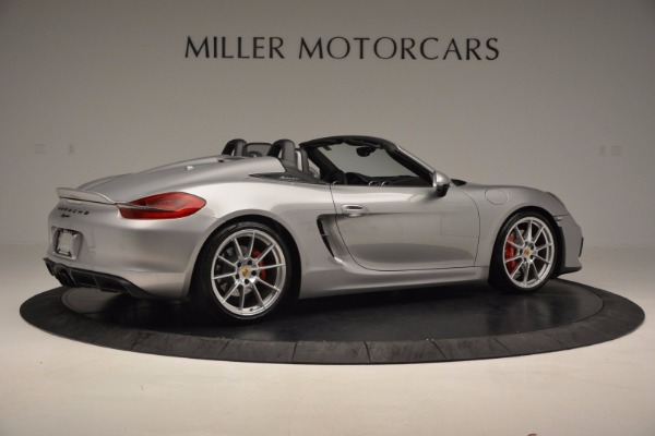 Used 2016 Porsche Boxster Spyder for sale Sold at Bentley Greenwich in Greenwich CT 06830 8